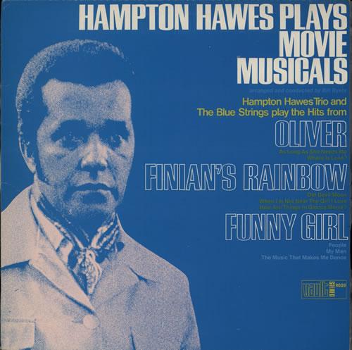 Hampton Hawes Plays Movie Musicals vinyl LP album (LP record) Spanish HWWLPPL566526