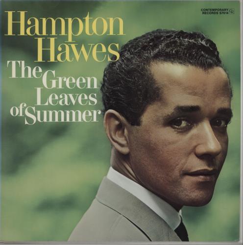 Hampton Hawes The Green Leaves Of Summer vinyl LP album (LP record) US HWWLPTH667677