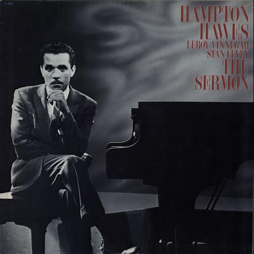 Hampton Hawes The Sermon vinyl LP album (LP record) US HWWLPTH566520