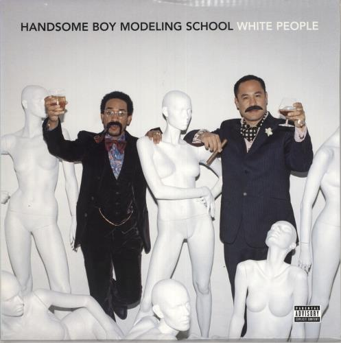 Handsome Boy Modeling School White People 2-LP vinyl record set (Double Album) US HBM2LWH307756