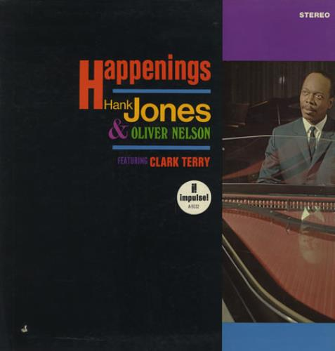 Hank Jones Happenings vinyl LP album (LP record) US HNJLPHA364270
