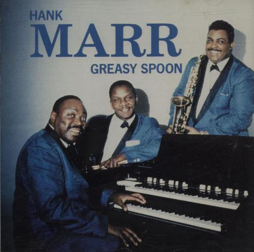 Hank Marr Greasy Spoon CD album (CDLP) Canadian HL-CDGR669112