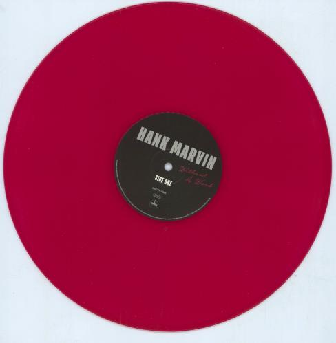 Hank Marvin Without A Word - Red Vinyl vinyl LP album (LP record) UK HKVLPWI741733