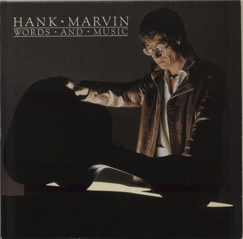 Hank Marvin Words And Music vinyl LP album (LP record) UK HKVLPWO685115
