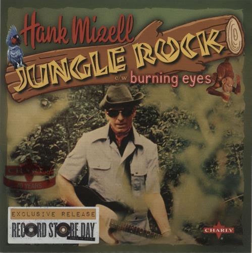 "Hank Mizell Jungle Rock - RSD14 7"" vinyl single (7 inch record) UK HM507JU683136"
