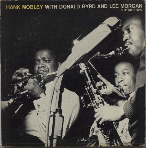 Hank Mobley Hank Mobley With Donald Byrd And Lee Morgan - 1st vinyl LP album (LP record) US HMOLPHA664650