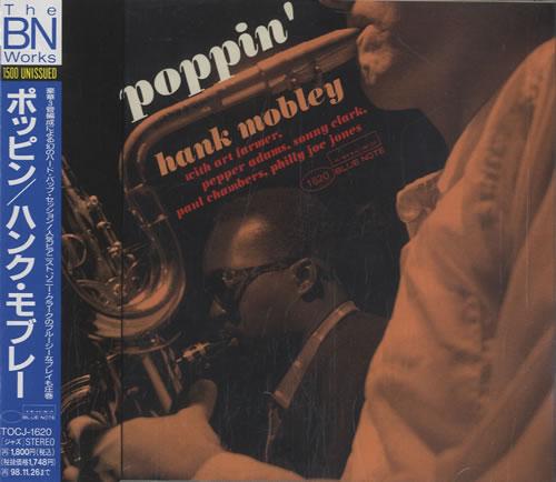 Hank Mobley Poppin' CD album (CDLP) Japanese HMOCDPO533791