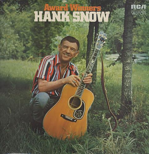 Hank Snow Award Winners vinyl LP album (LP record) UK HNWLPAW328695