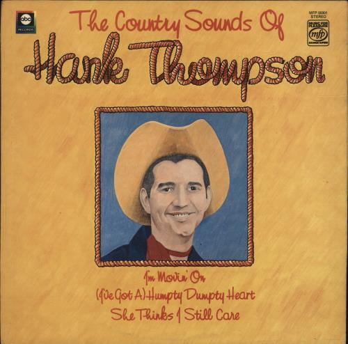 Hank Thompson The Country Sounds Of Hank Thompson vinyl LP album (LP record) UK H/TLPTH701523