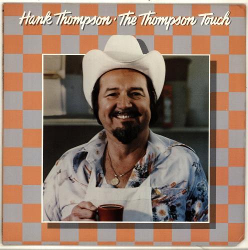 Hank Thompson The Thompson Touch vinyl LP album (LP record) US H/TLPTH705022