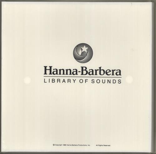 Hanna-Barbera Hanna-Barbera Library Of Sounds Vinyl Box Set US H~BVXHA715898