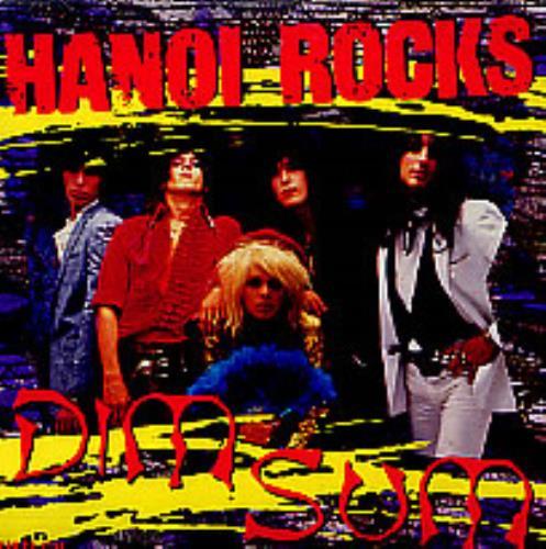 "Hanoi Rocks Dim Sum + p/s CD single (CD5 / 5"") US HANC5DI09307"