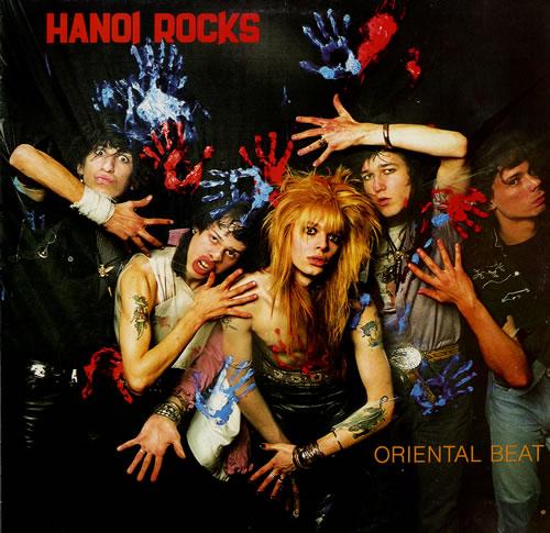 Hanoi Rocks Oriental Beat vinyl LP album (LP record) UK HANLPOR554978