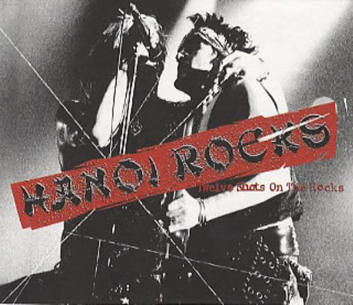 Hanoi Rocks Twelve Shots On The Rocks handbill Japanese HANHBTW301275