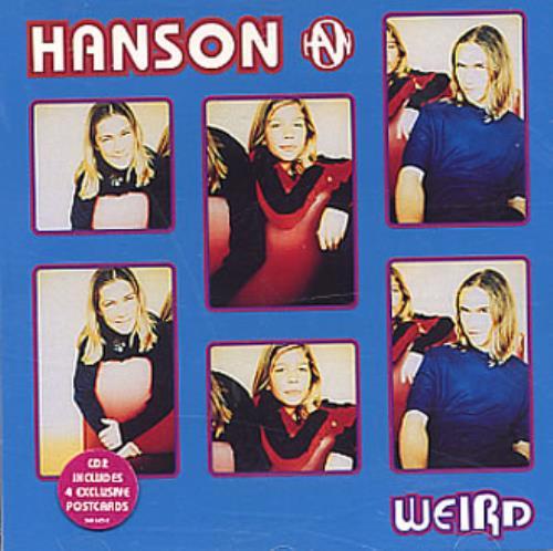 "Hanson Weird CD single (CD5 / 5"") UK HSOC5WE304867"