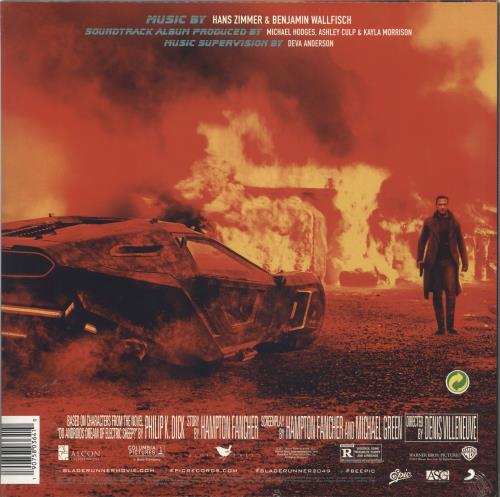 Hans Zimmer Blade Runner 2049 - Sealed 2-LP vinyl record set (Double Album) UK HZA2LBL736156