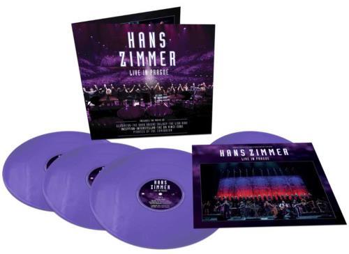 Hans Zimmer Live In Prague - Purple Vinyl 4-LP vinyl album set (4 records) UK HZA4LLI746462