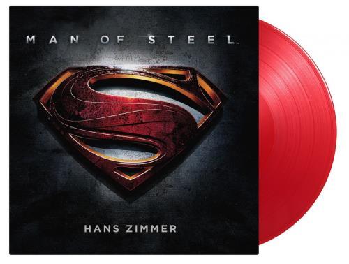 Hans Zimmer Man Of Steel - 180 Gram Red Vinyl - Sealed 2-LP vinyl record set (Double Album) UK HZA2LMA758060