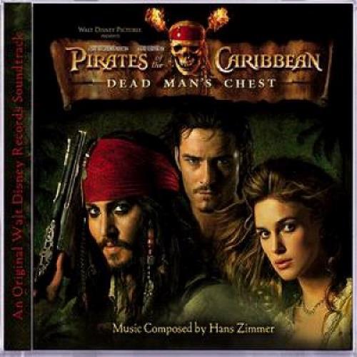 Hans Zimmer Pirates Of The Caribbean - Dead Man's Chest OST CD album (CDLP) UK HZACDPI364018