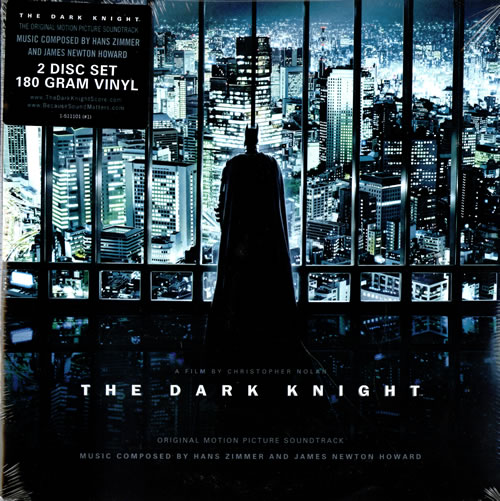 Hans Zimmer The Dark Knight - 180gm - Sealed - Del Mk 2-LP vinyl record set (Double Album) US HZA2LTH461184