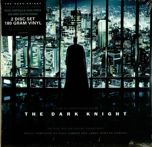 Hans Zimmer The Dark Knight - 180gm - Sealed 2-LP vinyl record set (Double Album) US HZA2LTH450395