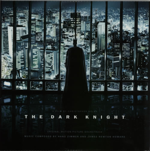 Hans Zimmer The Dark Knight - 180gm 2-LP vinyl record set (Double Album) US HZA2LTH446331