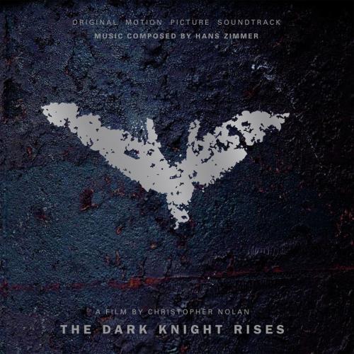 Hans Zimmer The Dark Knight Rises - Flaming Vinyl + Litho vinyl LP album (LP record) UK HZALPTH768168