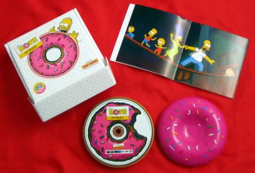 Hans Zimmer The Simpsons Movie OST CD album (CDLP) UK HZACDTH414106