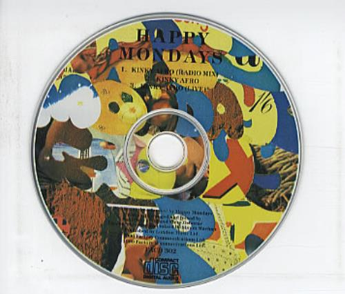"Happy Mondays Kinky Afro CD single (CD5 / 5"") UK HAPC5KI31833"
