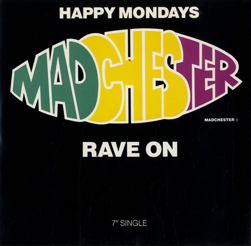 Image result for happy mondays madchester rave on 7'' eil com