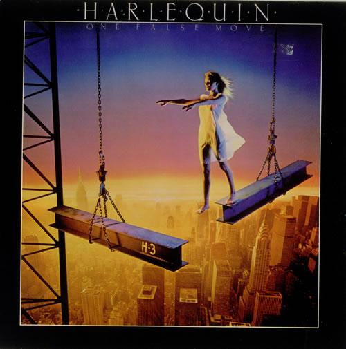 Harlequin One False Move vinyl LP album (LP record) UK HK7LPON543876