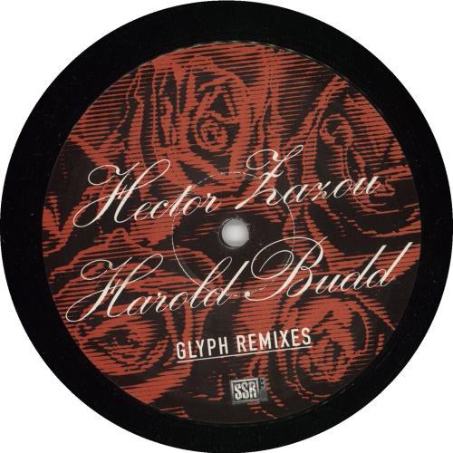 "Harold Budd Glyph Remixes 12"" vinyl single (12 inch record / Maxi-single) Belgian UDD12GL725670"