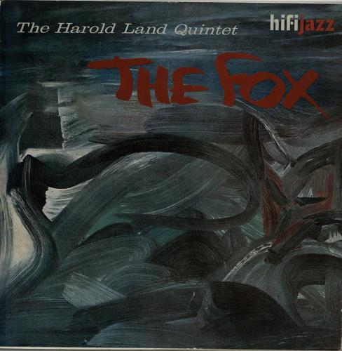 Harold Land The Fox vinyl LP album (LP record) UK 1HLLPTH649269