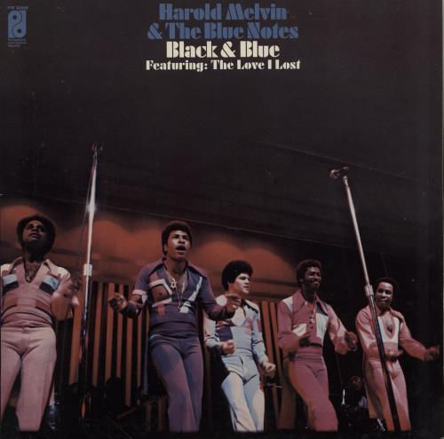 Harold Melvin & The Blue Notes Black & Blue vinyl LP album (LP record) UK HBNLPBL755477