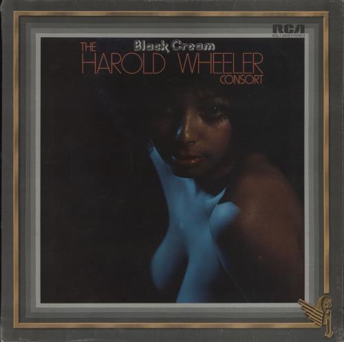 Harold Wheeler Black Cream - Promo stamped vinyl LP album (LP record) US 2D0LPBL756098