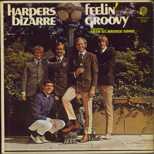 Harpers Bizarre Feelin Groovy Uk Vinyl Lp Album Lp