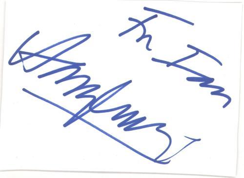 Harry Connick, Jr. Autograph memorabilia UK HCJMMAU732508