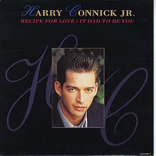 "Harry Connick, Jr. Recipe For Love 7"" vinyl single (7 inch record) UK HCJ07RE195720"