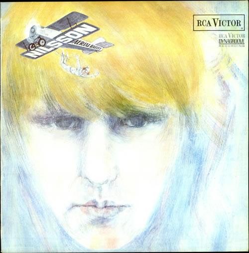 Harry Nilsson Aerial Ballet - 3rd Issue/ Matt Sleeve vinyl LP album (LP record) UK HNLLPAE509736