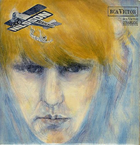 Harry Nilsson Aerial Ballet - Orange Label vinyl LP album (LP record) UK HNLLPAE348864