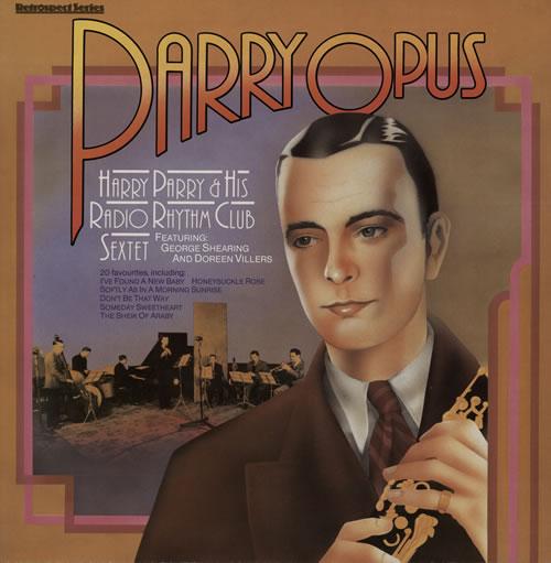 Harry Parry Parry Opus vinyl LP album (LP record) UK HT6LPPA566920