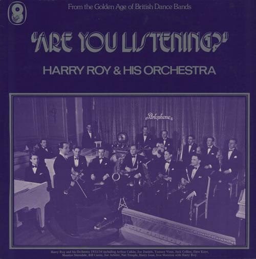 Harry Roy Are You Listening? 2-LP vinyl record set (Double Album) UK HR-2LAR569854