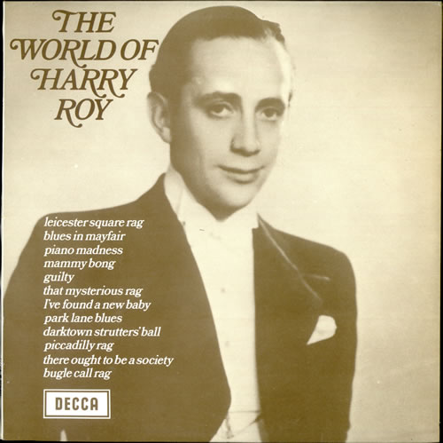 Harry Roy The World Of Harry Roy vinyl LP album (LP record) UK HR-LPTH499855
