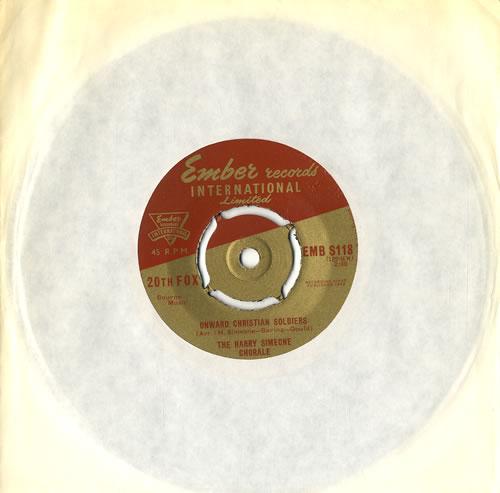 "Harry Simeone Onward Christian Soldiers 7"" vinyl single (7 inch record) UK HQU07ON555705"