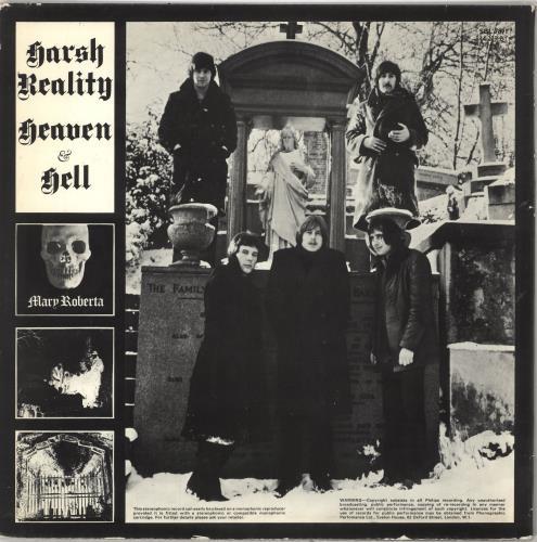 Harsh Reality Heaven And Hell vinyl LP album (LP record) UK HSHLPHE07781