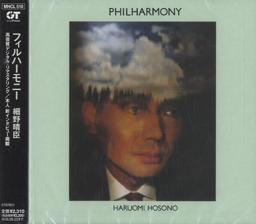 Haruomi Hosono Philharmony CD album (CDLP) Japanese HOSCDPH314716