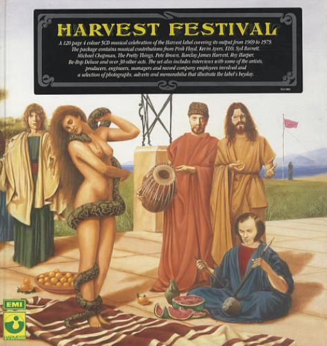 Harvest Label Harvest Festival CD Album Box Set UK HRVDXHA328775