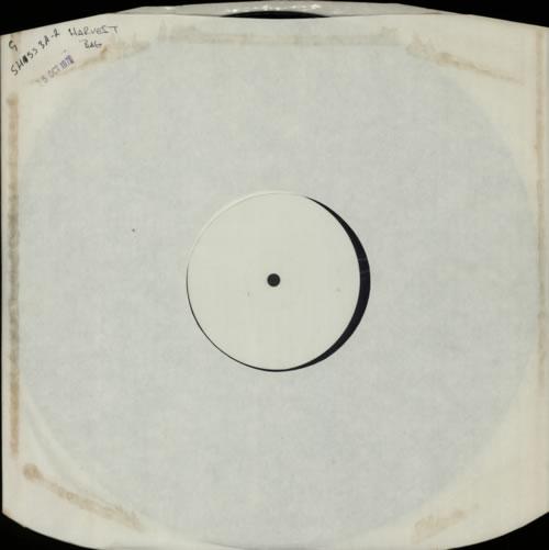Harvest Label The Harvest Bag - 2 x 1-sided Test Pressing 2-LP vinyl record set (Double Album) UK HRV2LTH598603