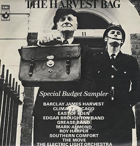 Harvest Label The Harvest Bag vinyl LP album (LP record) UK HRVLPTH382168