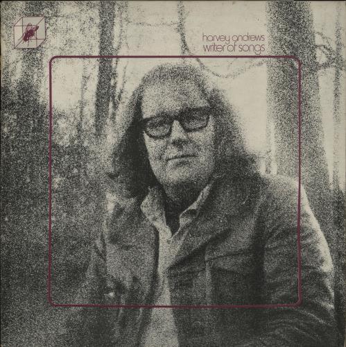 Harvey Andrews Writer Of Songs + Insert vinyl LP album (LP record) UK HRWLPWR660380
